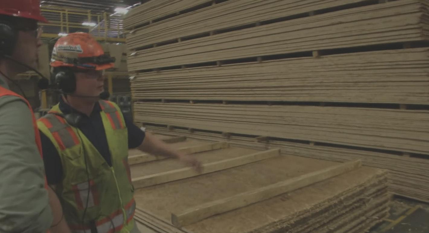 At subflooring video fine homebuilding tour