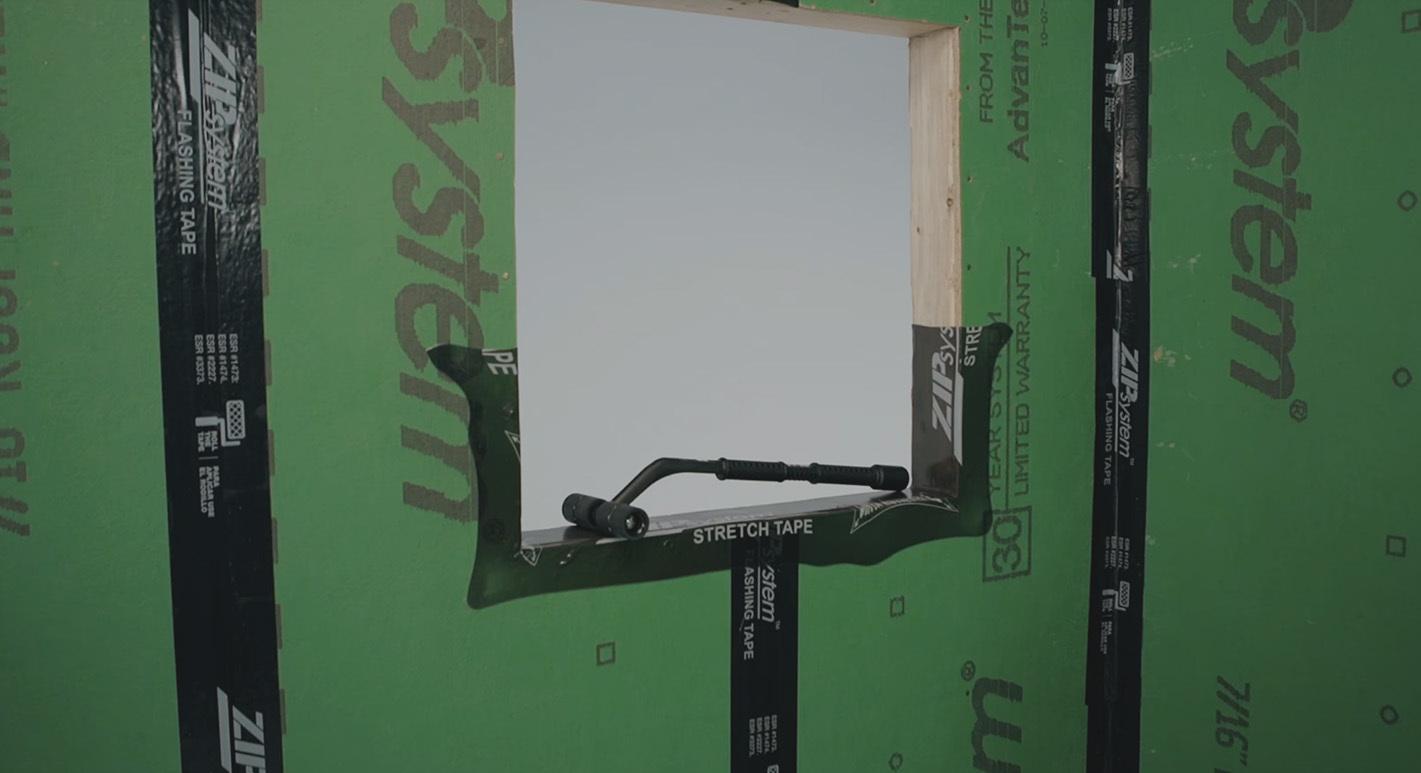 Zip flashingtape video tape roller