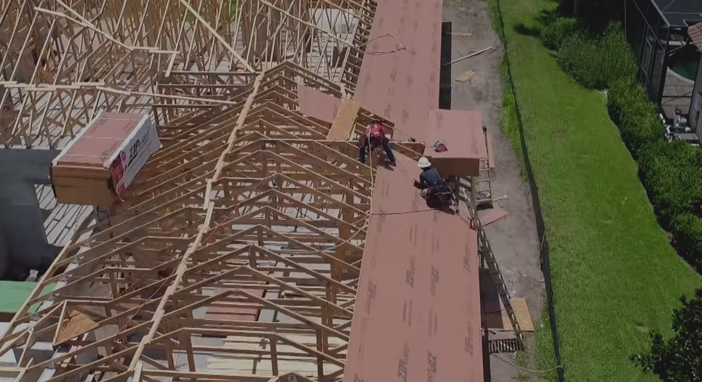 Zip roof video resilient roofs