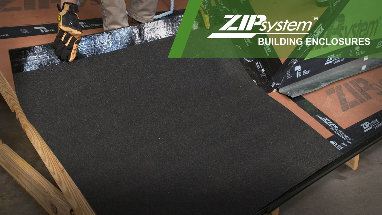 Ice + Water Membrane Installation
