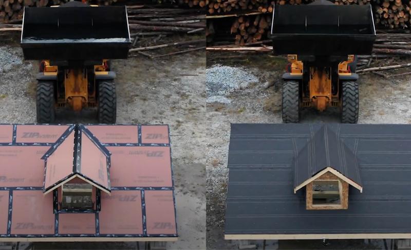 ZIP System™ Roof Assembly vs  Common Felt Underlayment