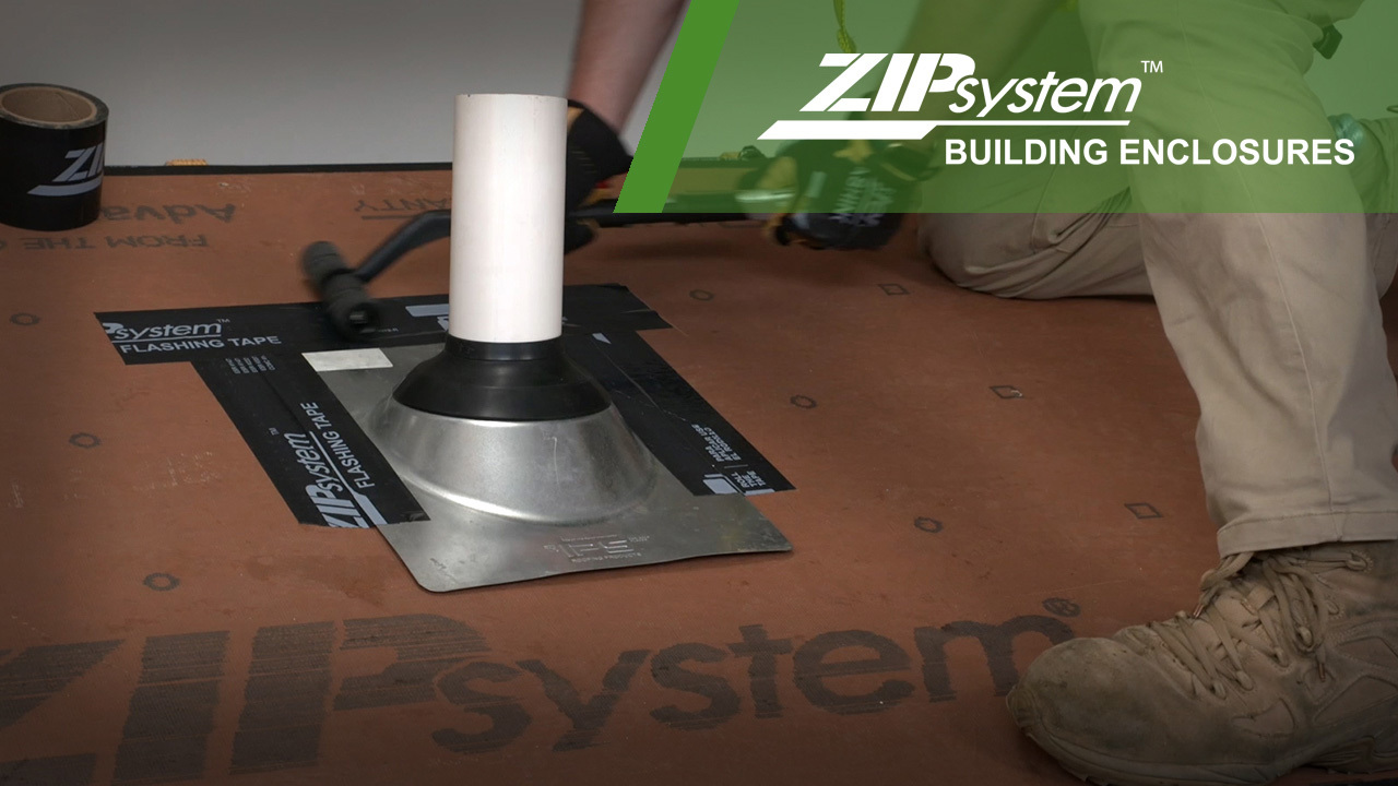 Flashing Roof Pipe Boot
