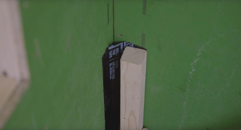 Zip flashing tape video install inside outside corners